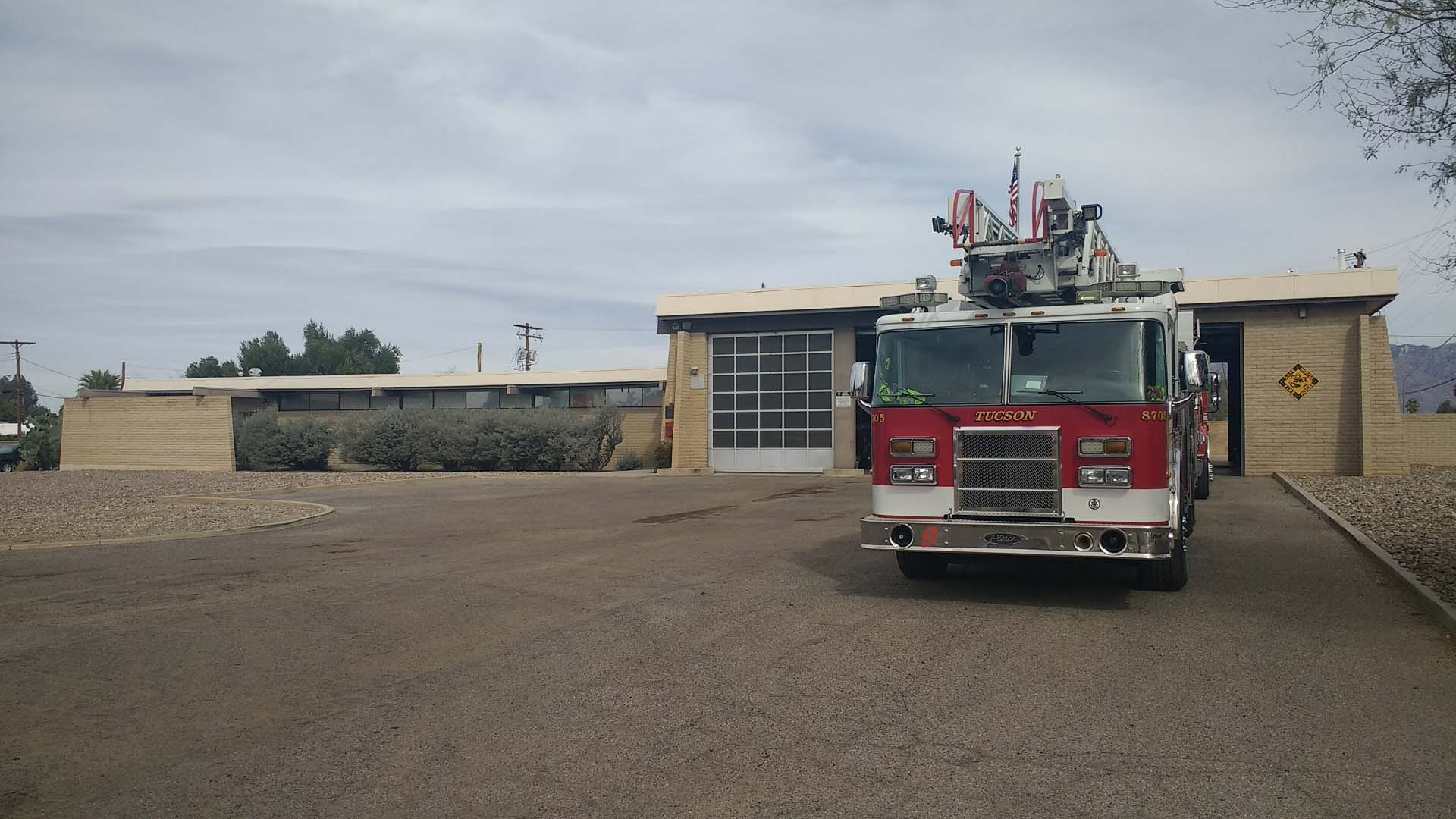Tucson's Fire Station Nine, Built in 1966, will be replaced with a new station in the first major project to grow out of a half-cent sale increase approved by city voters in 2017.