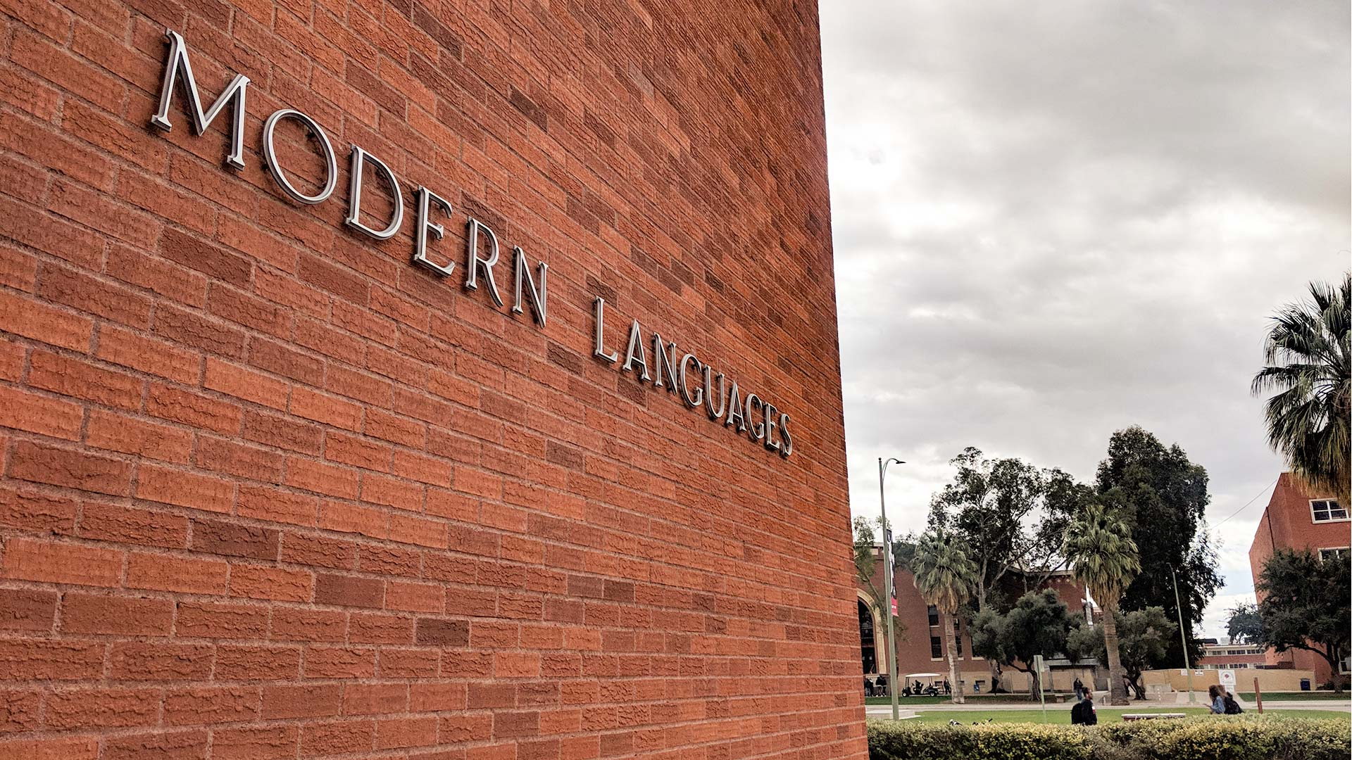 The Modern Languages building on the University of Arizona campus.