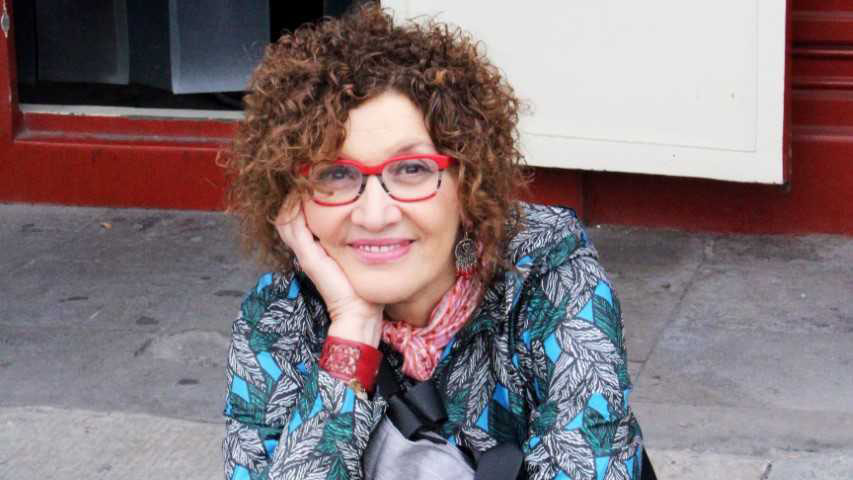 Myriam Moscona alone