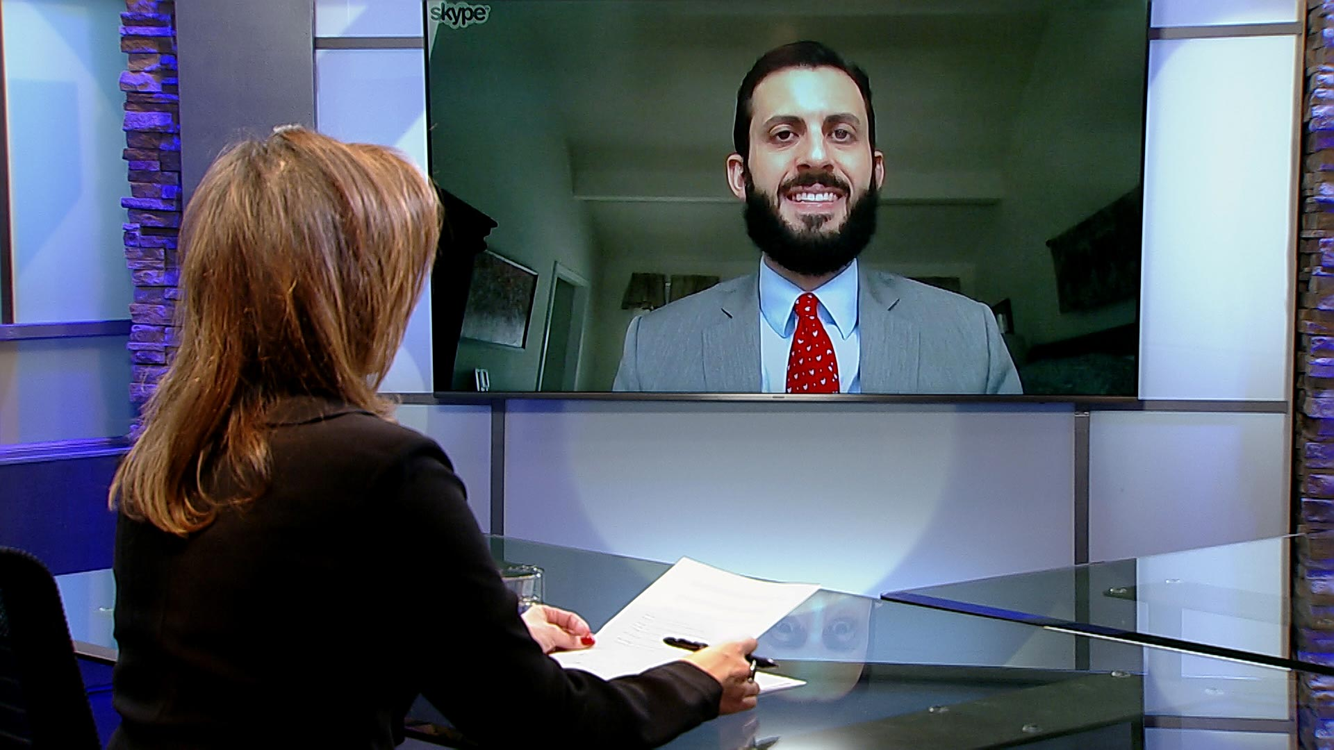 Alex Nowrasteh, senior immigration political analyst at the Cato Institute, speaks to Arizona 360 host Lorraine Rivera via Skype.