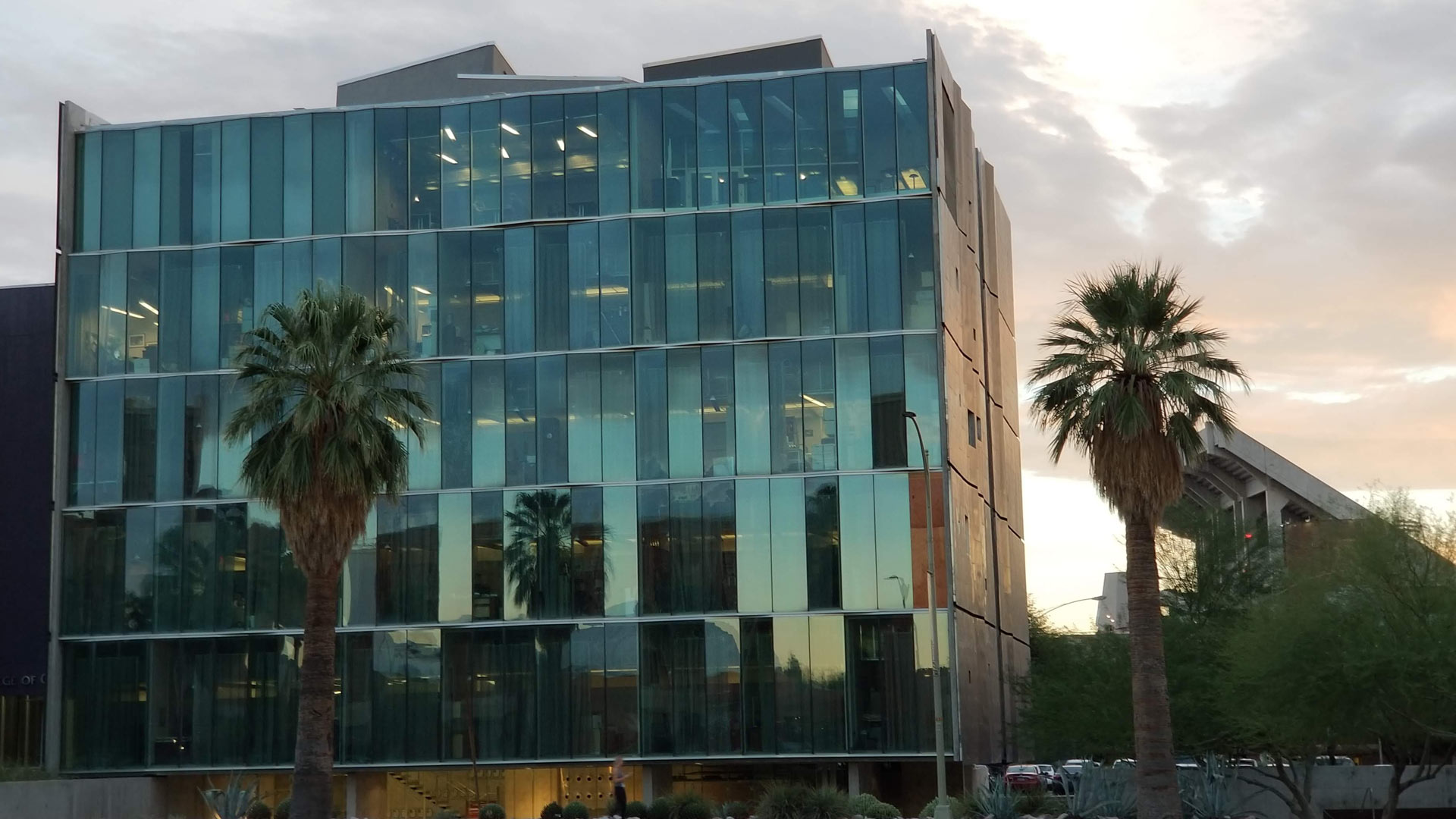 Meinel Optical Sciences building at the University of Arizona