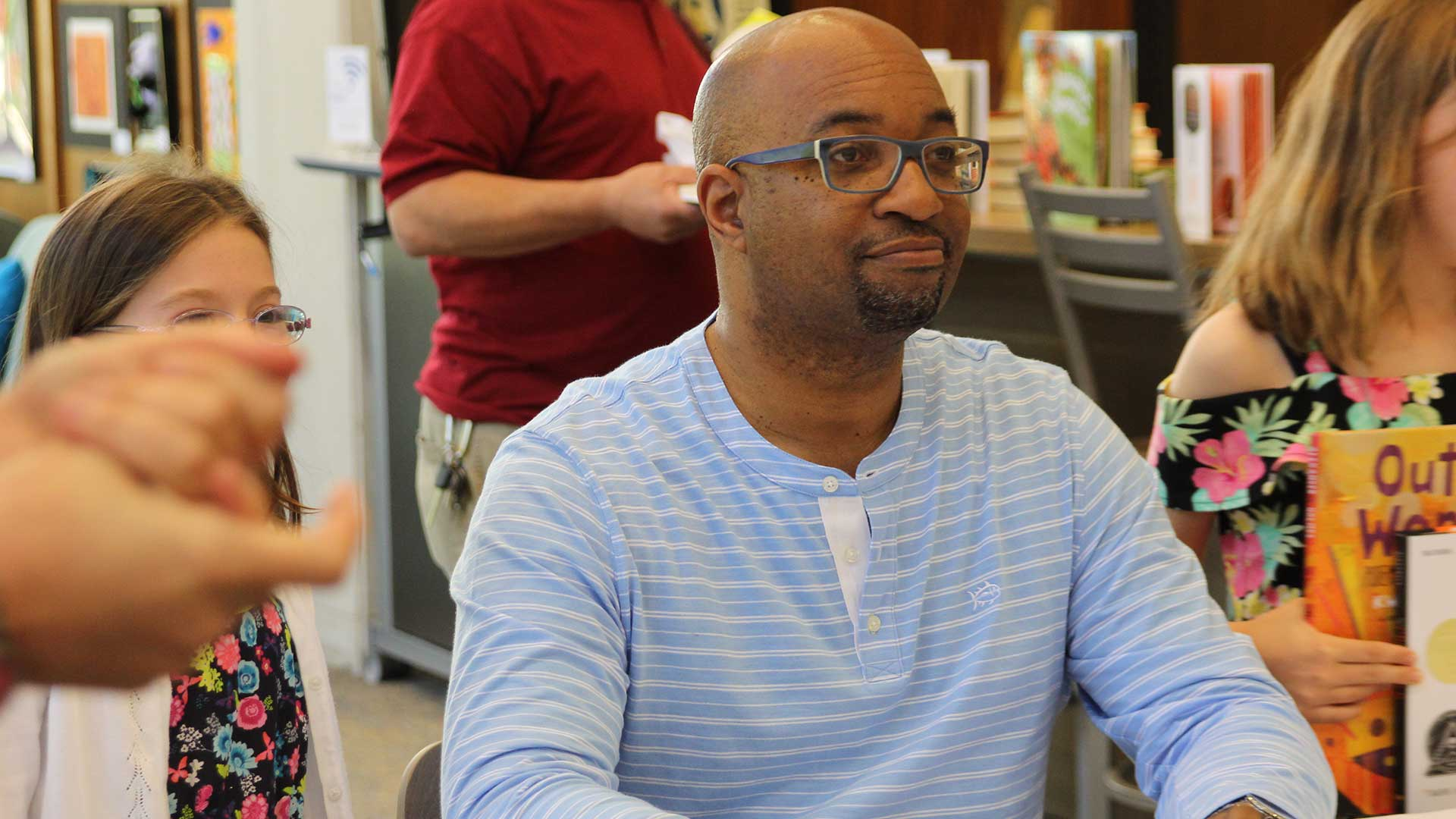Author Kwame Alexander has penned more than two dozen books for young readers.