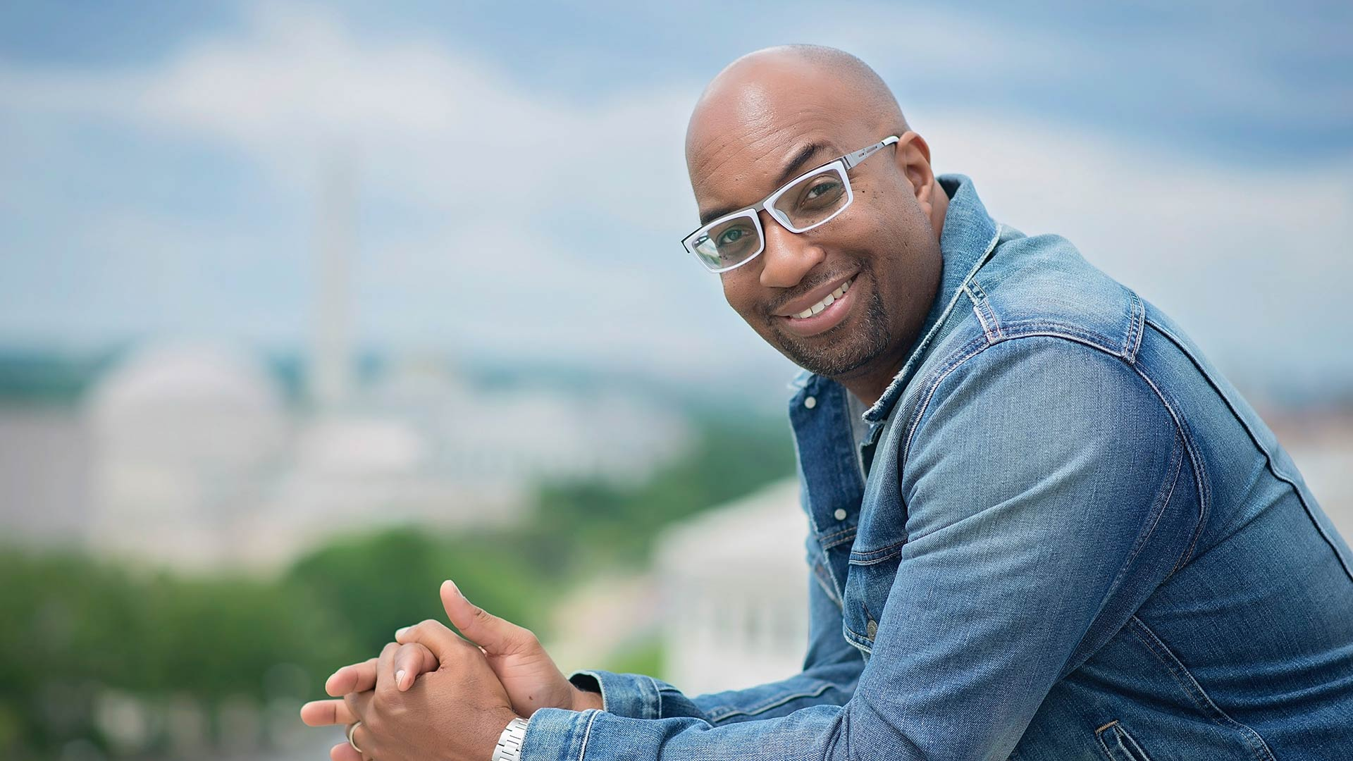 Author, poet and regular NPR commentator Kwame Alexander.