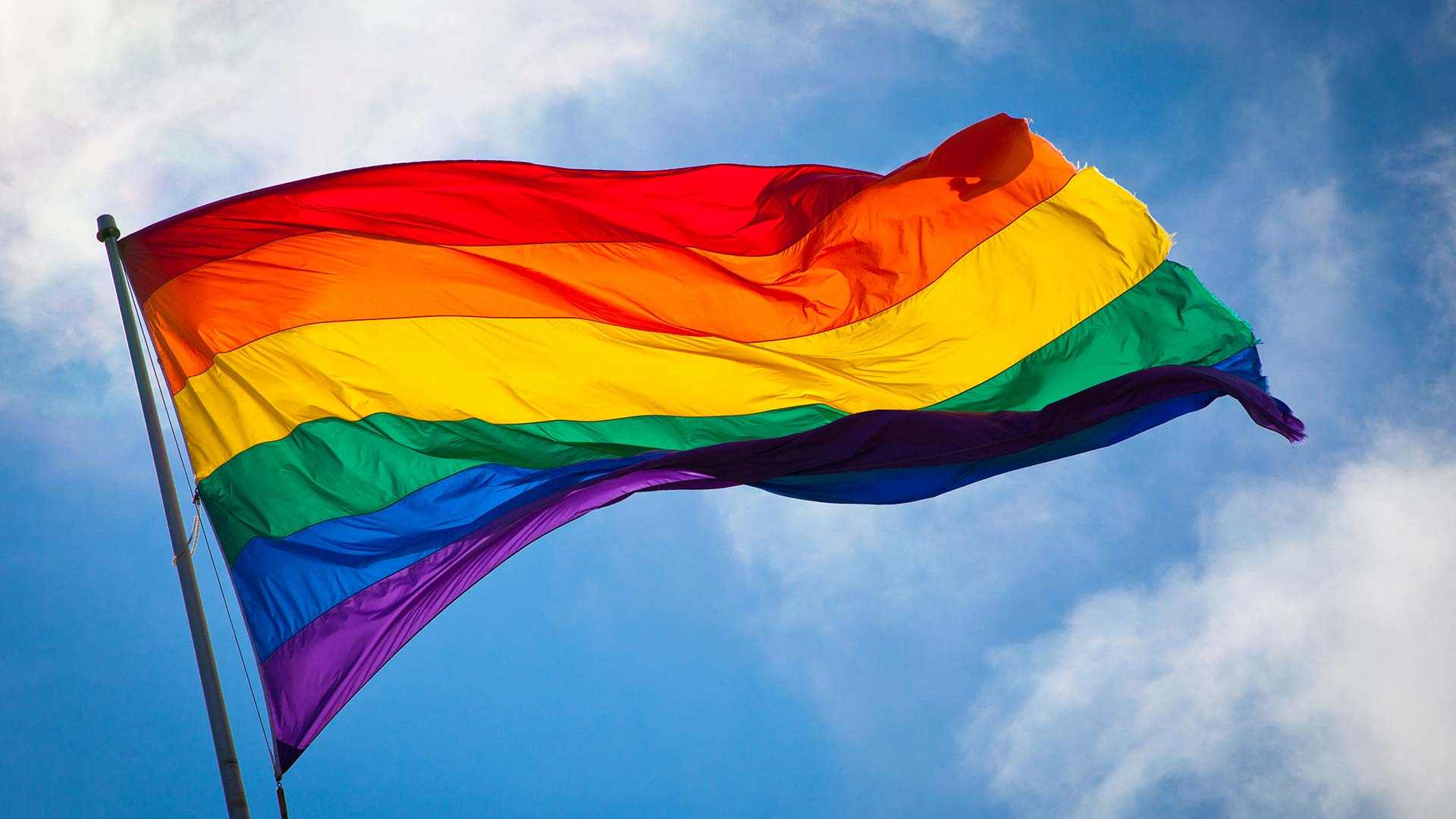 Rainbow flag LGBTQ
