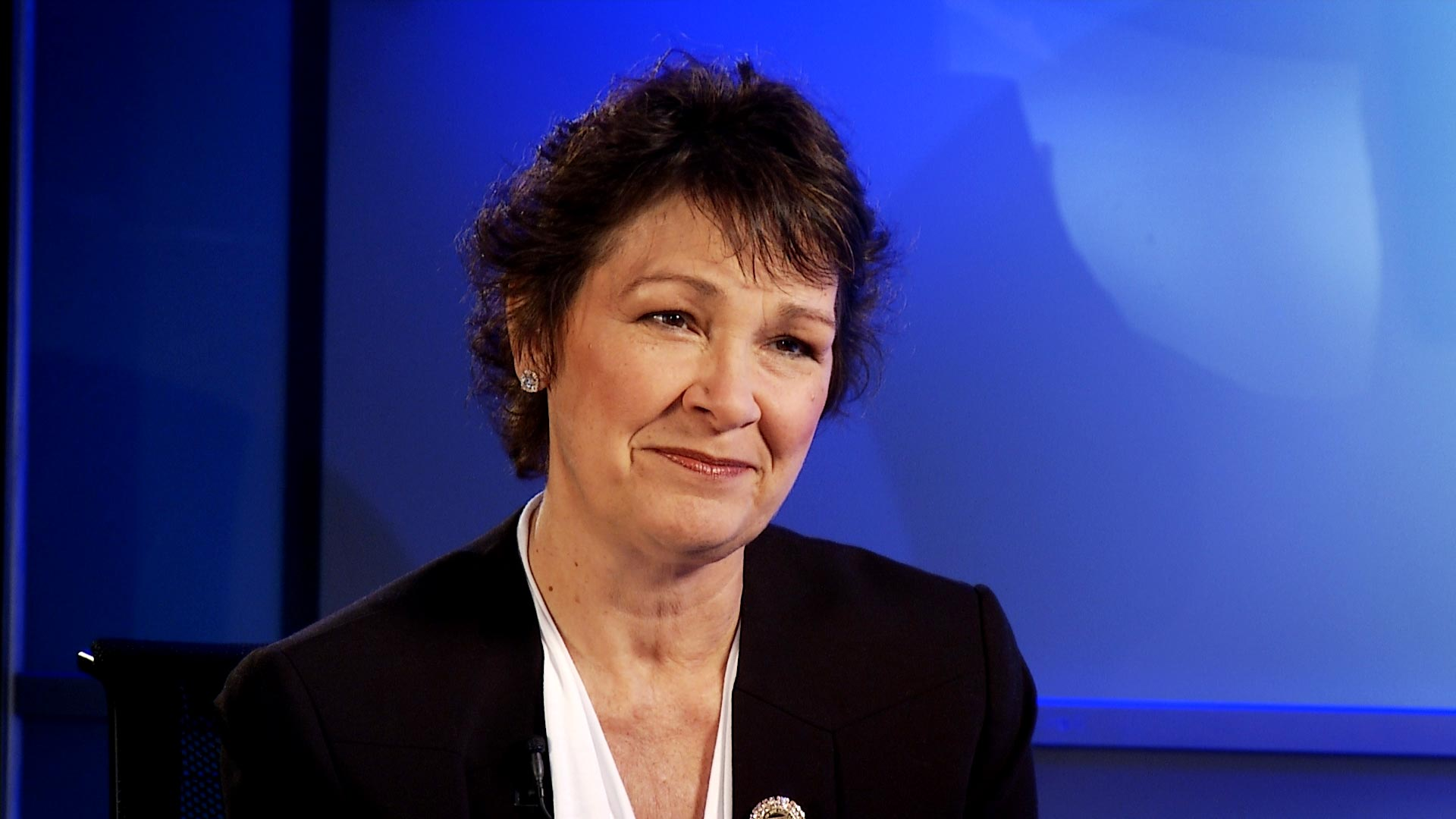 State Sen. Victoria Steele (D) at Arizona Public Media on February 1, 2019.