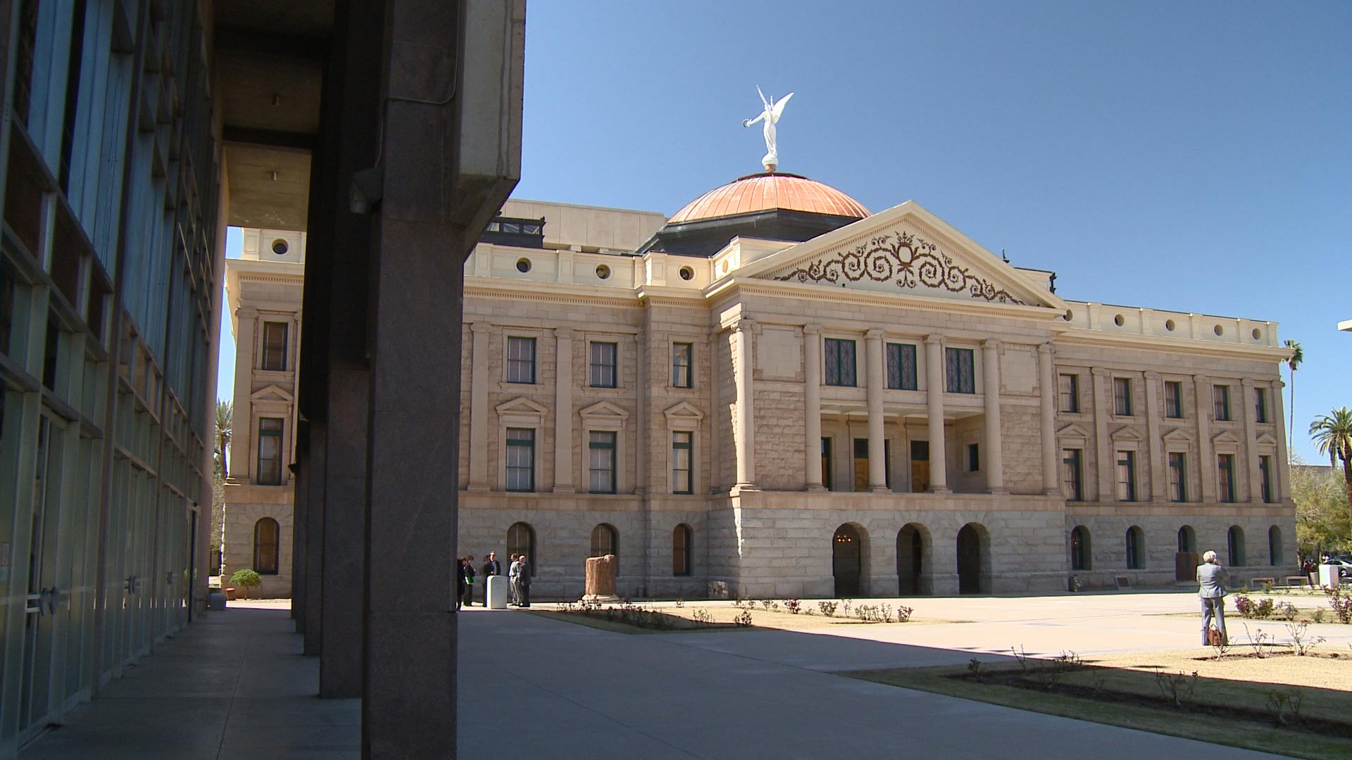 Arizona State Capitol building.