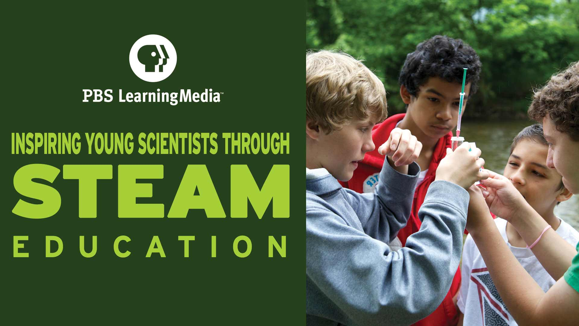 "This three-part series is meant to inspire young scientists and make concepts such as data and computational thinking engaging in a ""live learning"" environment."