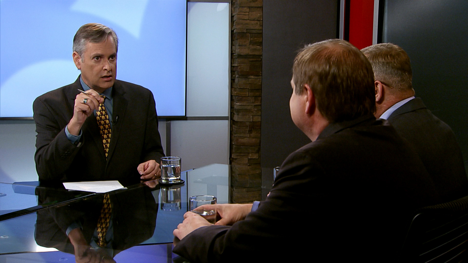 Christopher Conover interviews Jim Nintzel and James Kelley in the Arizona 360 studio.