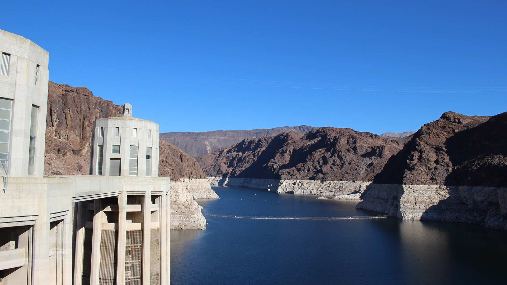 Lake Mead outside Las Vegas, Nevada, serves as the Colorado River's largest reservoir and a key water source for Arizona, California, Nevada and Mexico.