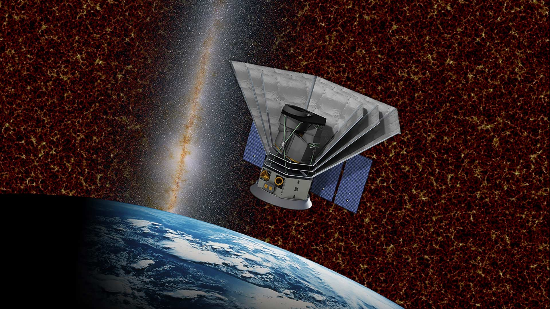 The SPHEREx mission will use optical and near-infrared light to survey the sky.