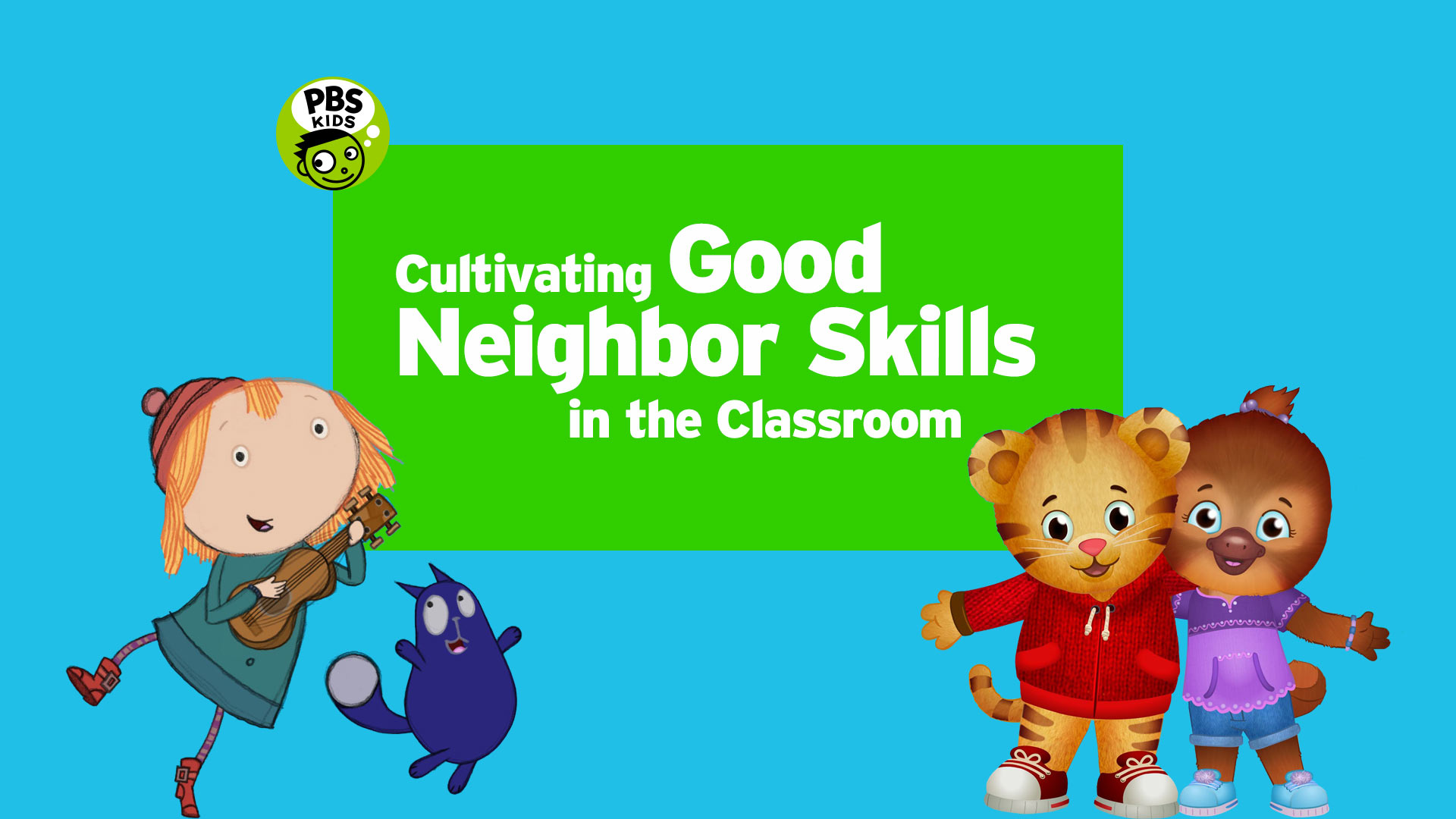 Social-Emotional 'Live-Learning' Series with PBS KIDS.