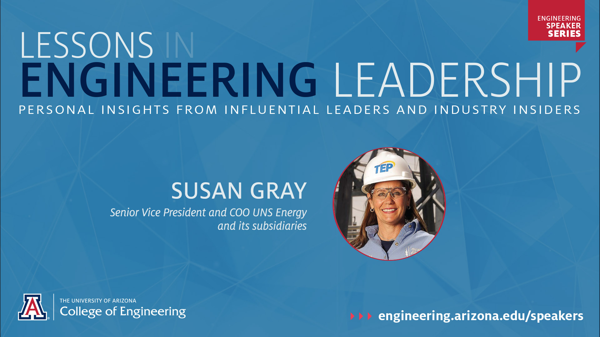 UA Engineering Speaker Series: Susan Gray