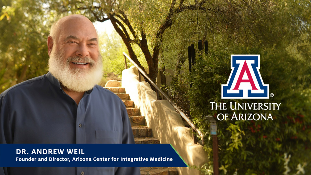 Dr. Andrew Weil Press Event