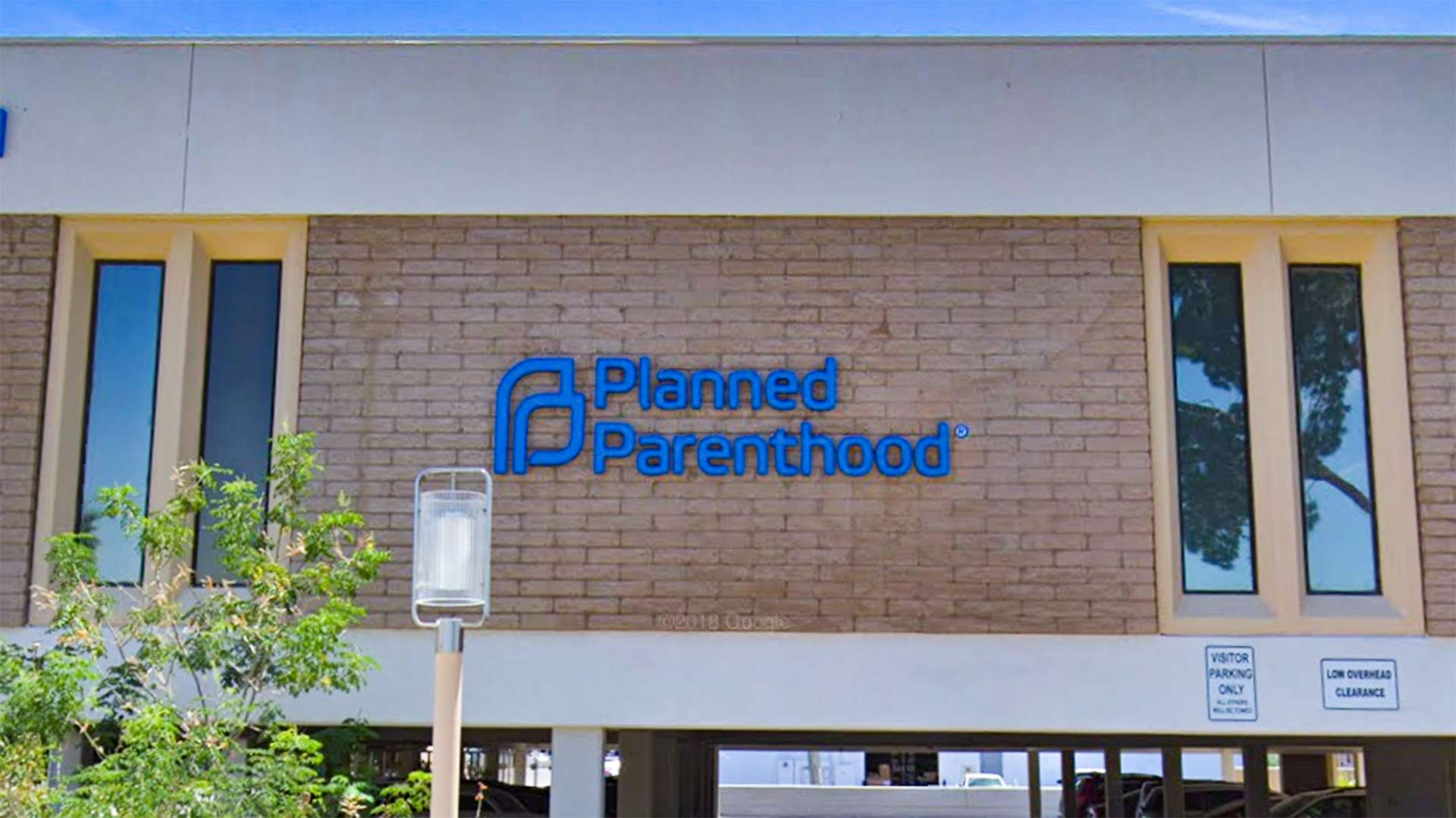 Google Street View image of a Planned Parenthood location in Phoenix.