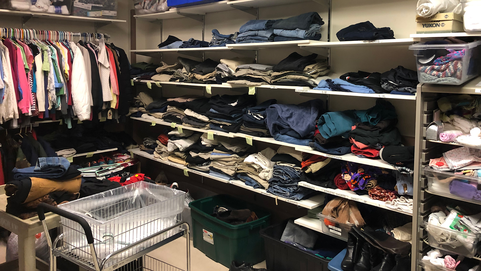 VA Clothing Pantry