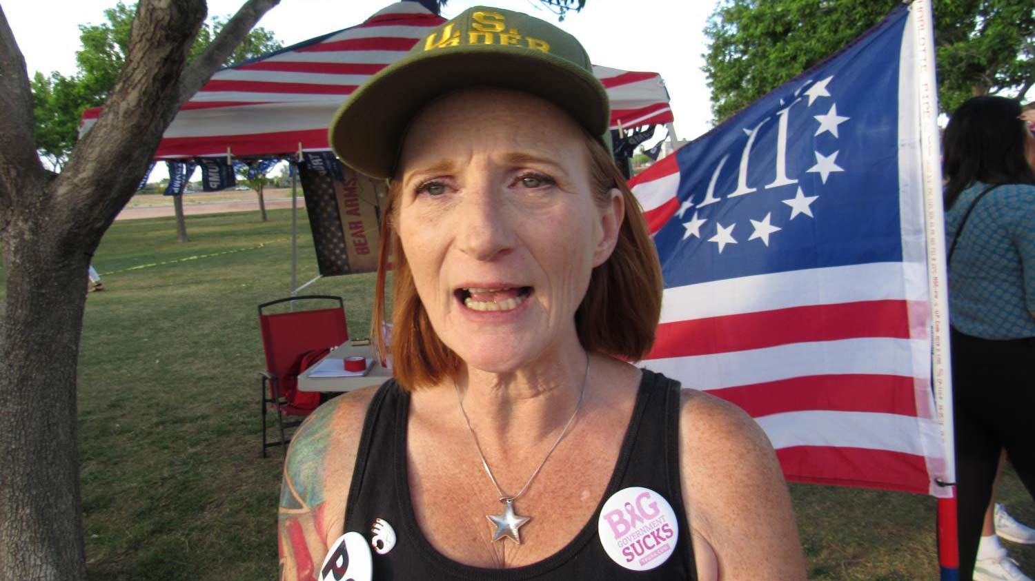 Lesa Antone, founder of Patriot Movement AZ.