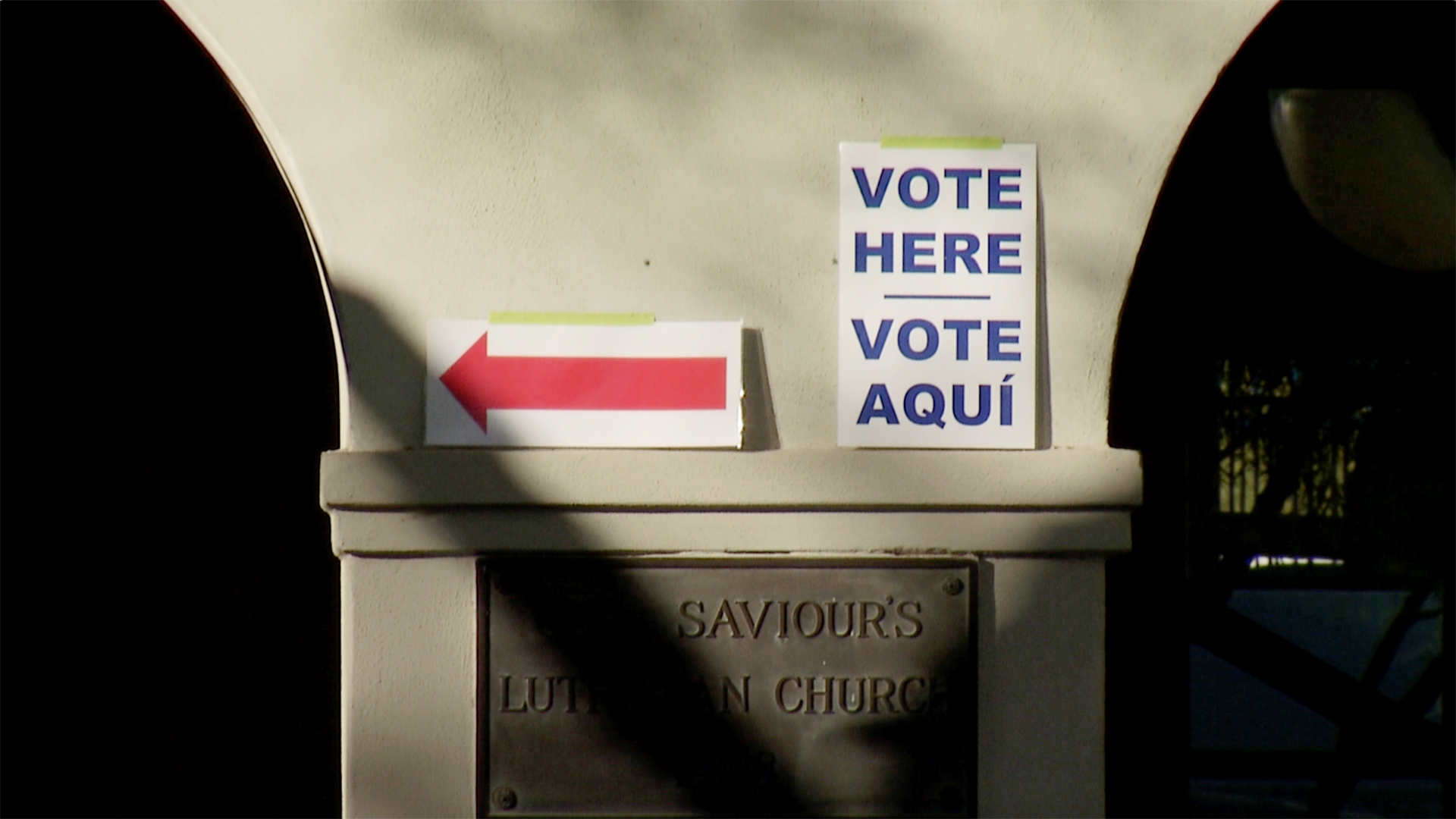 File image of a polling site in Arizona.