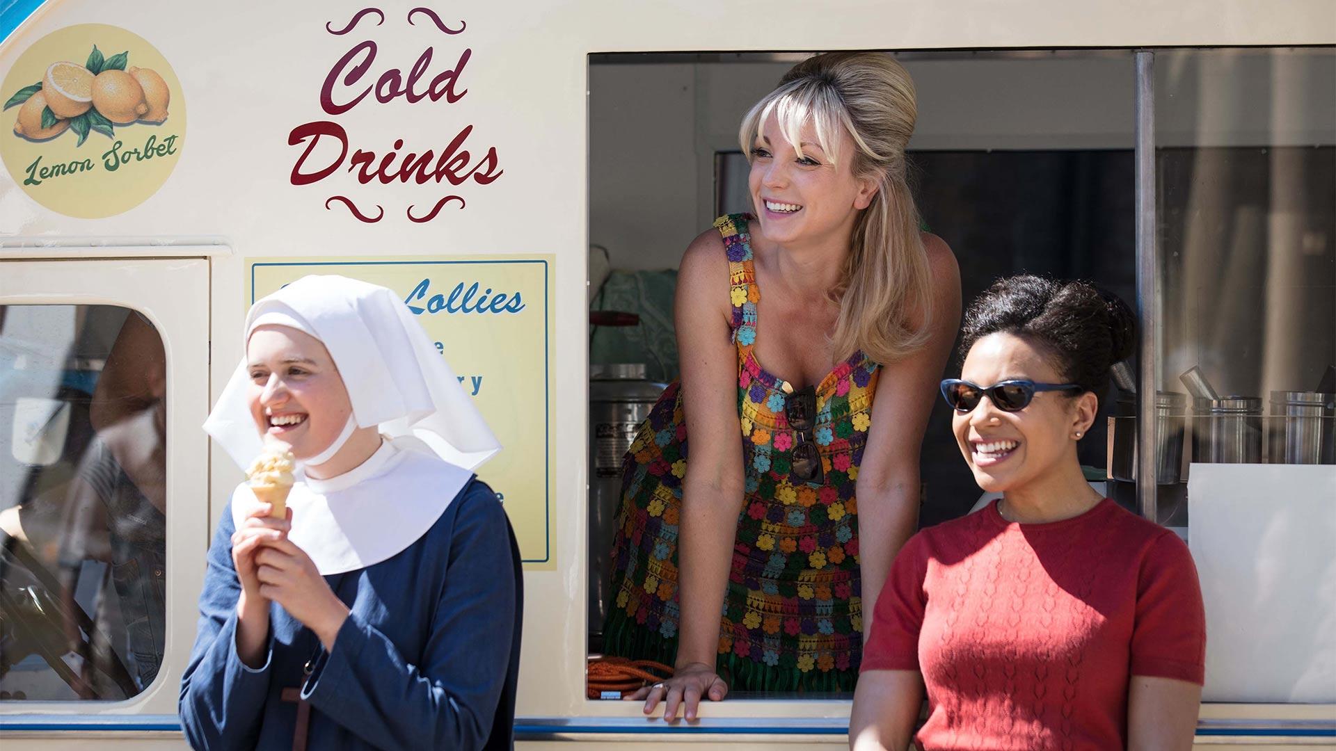 Sister Frances (ELLA BRUCCOLERI), Trixie Foster (HELEN GEORGE), Nurse Lucille Anderson (LEONIE ELLIOTT)