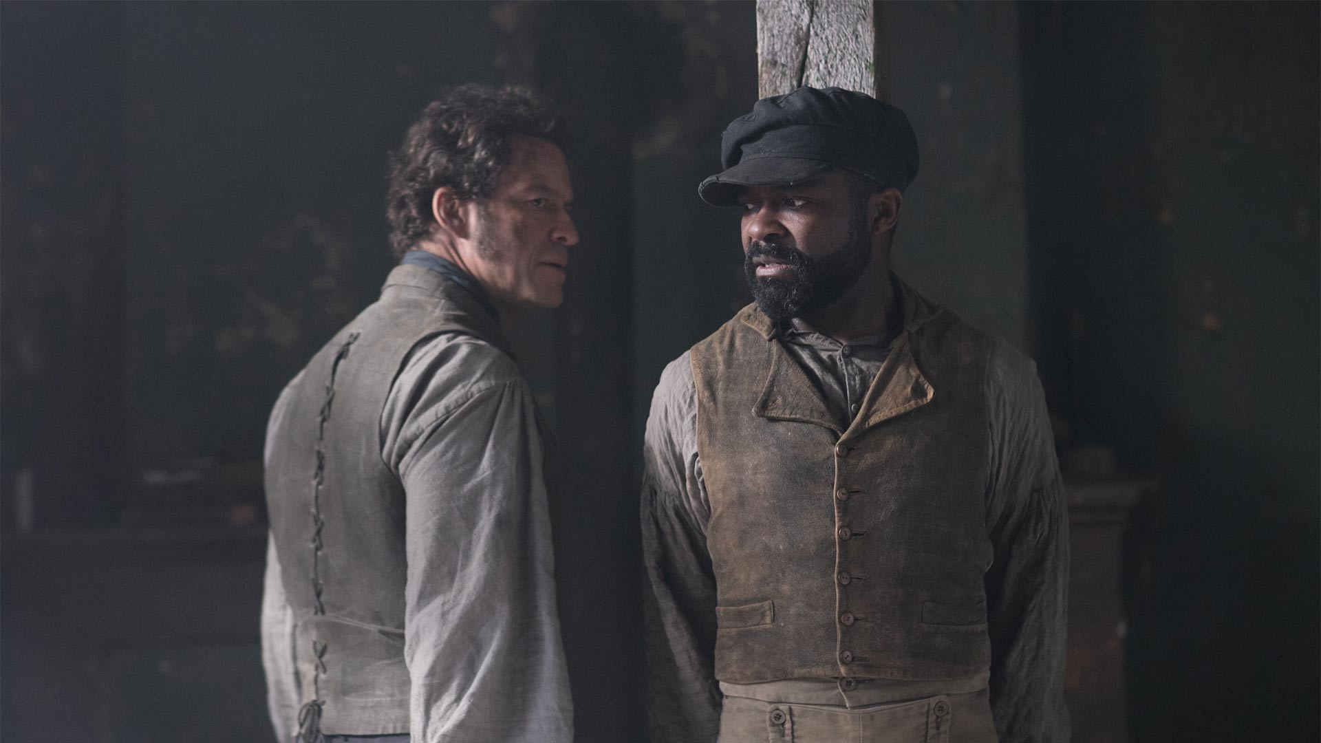 Jean Valjean (DOMINIC WEST), Javert (DAVID OYELOWO)
