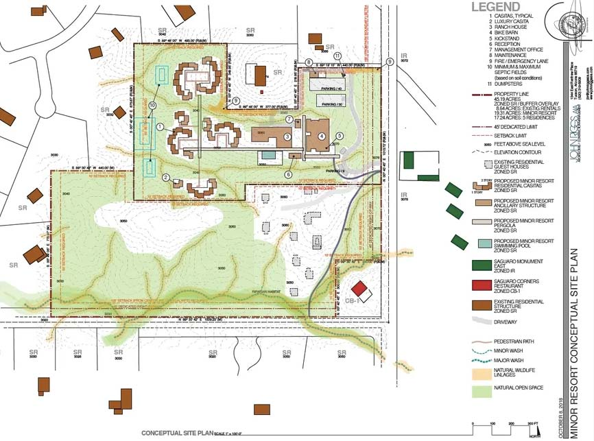 bike ranch site plan