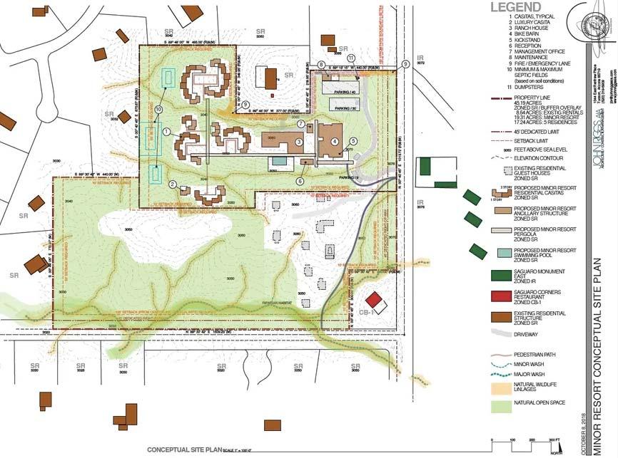 bike ranch site plan