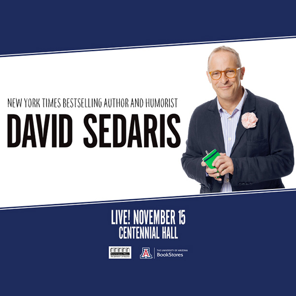 David Sedaris in Tucson