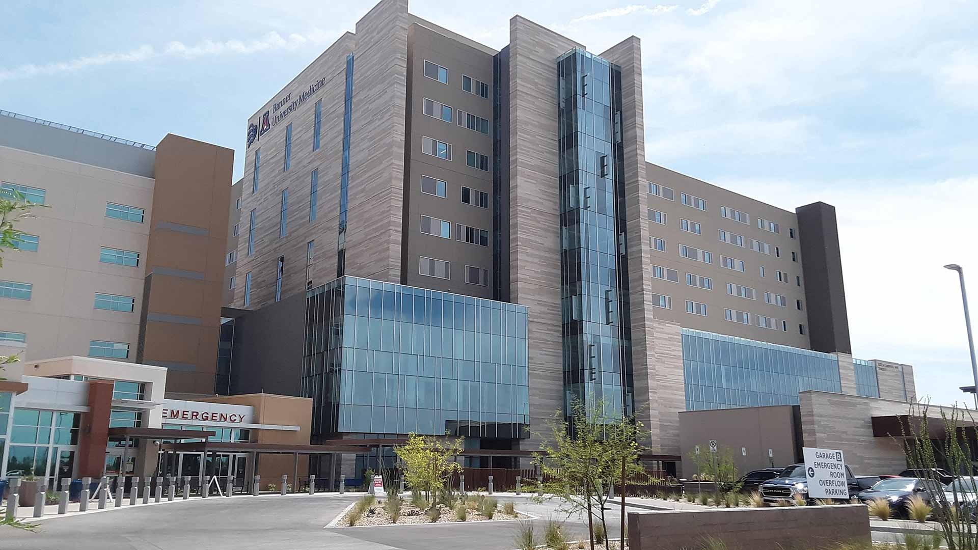 The new Banner-University Medical Center tower opened April 22.