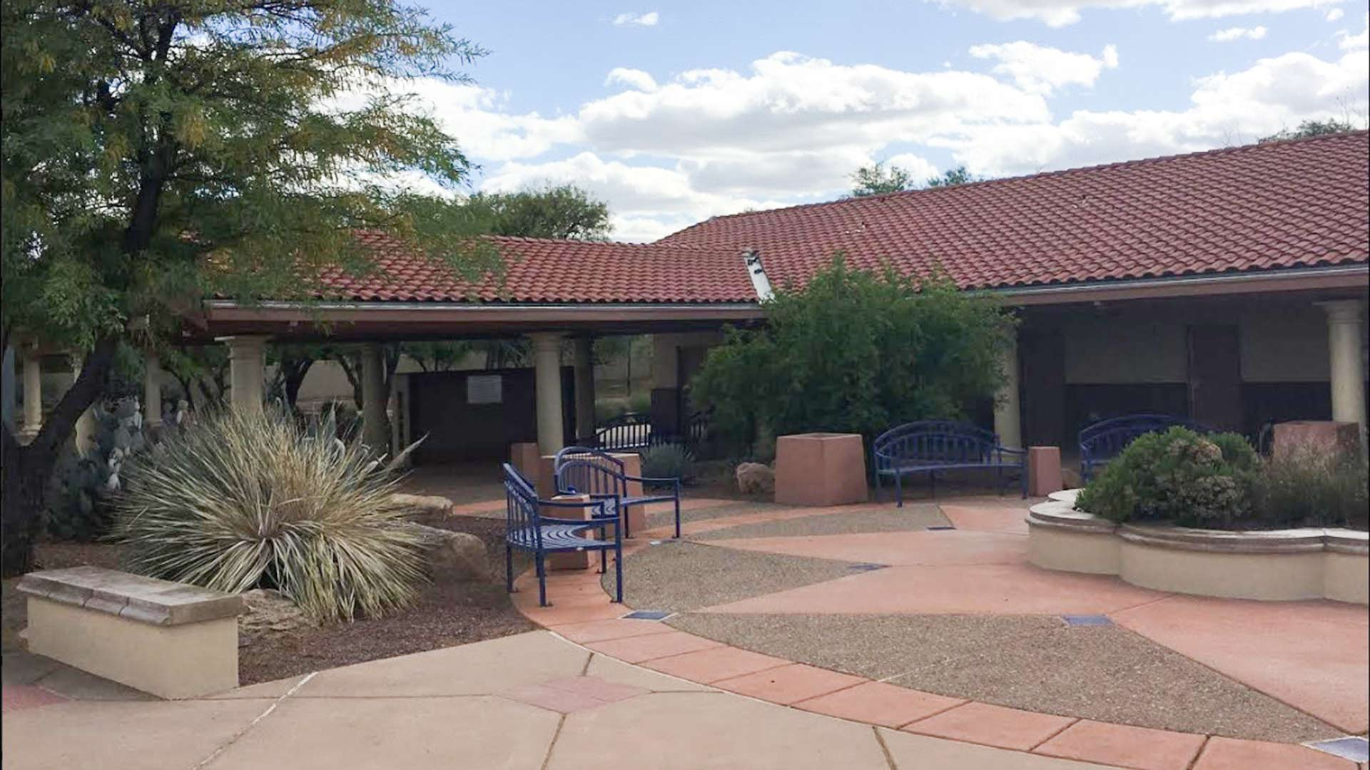 The Canoa Ranch Rest Area on Interstate 19 seen in a photo posted on the Arizona Department of Transportation Facebook page, May 24, 2019.