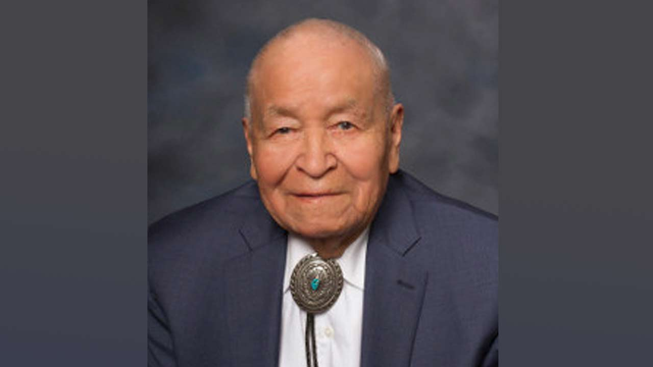 New Mexico State Senator John Pinto, one of the last remaining Navajo Code Talkers, died May 24, 2019, in Gallup, New Mexico.