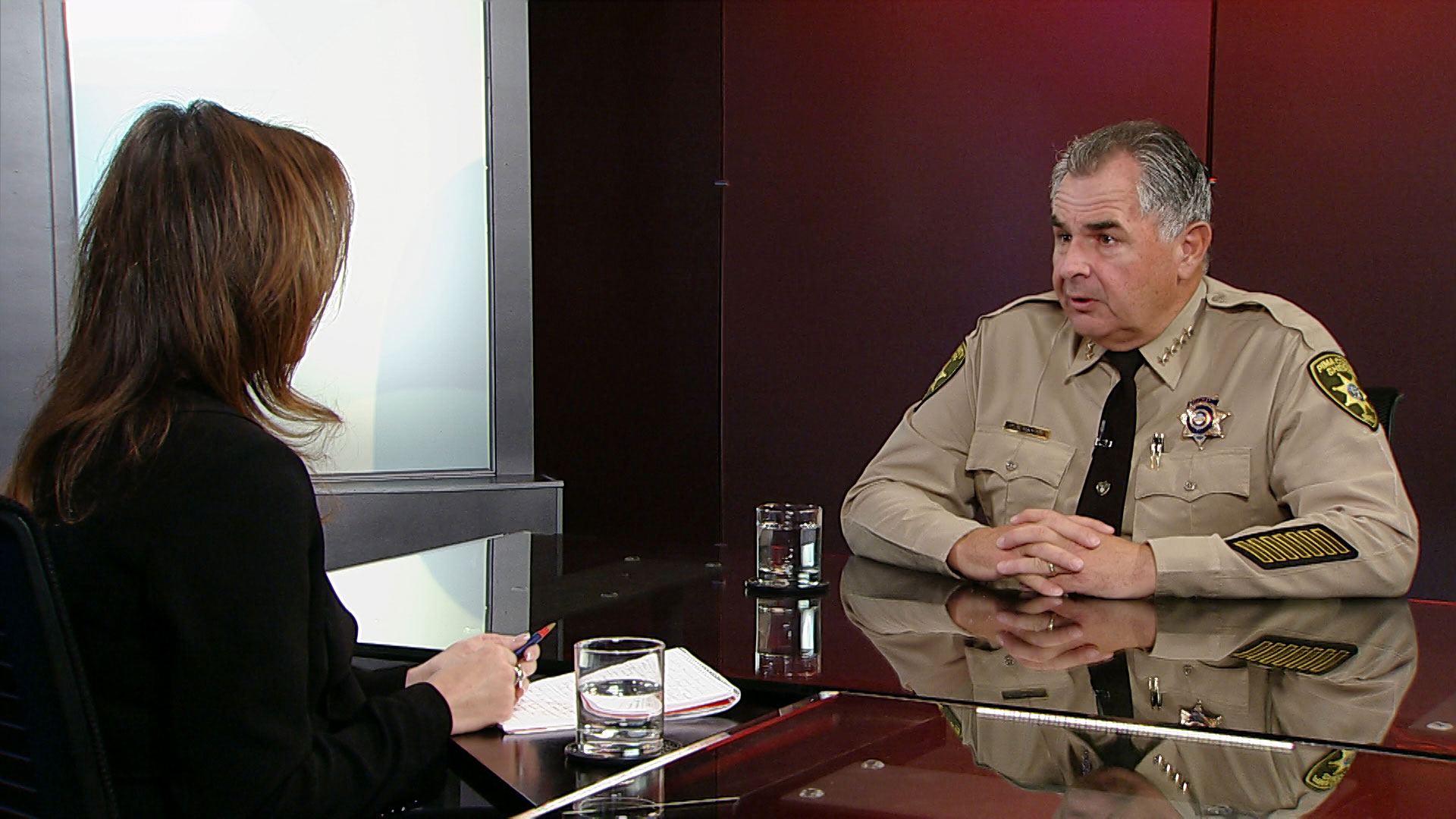 Pima County Sheriff Mark D. Napier joins Lorraine Rivera to discuss the border crisis.
