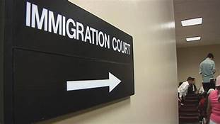 Immigration Court Sign