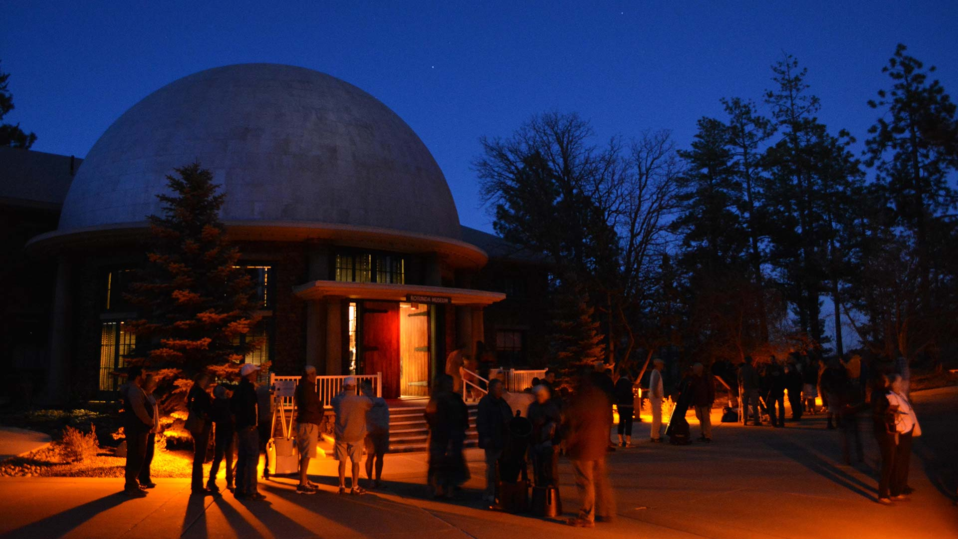 Lowell observatory rotunda
