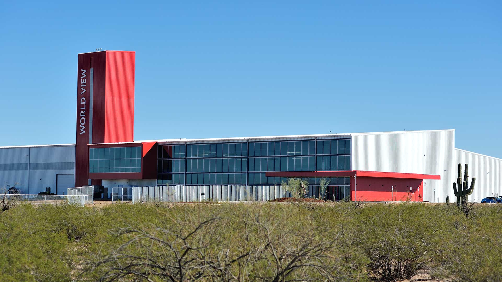 World View headquarters outside of Tucson.
