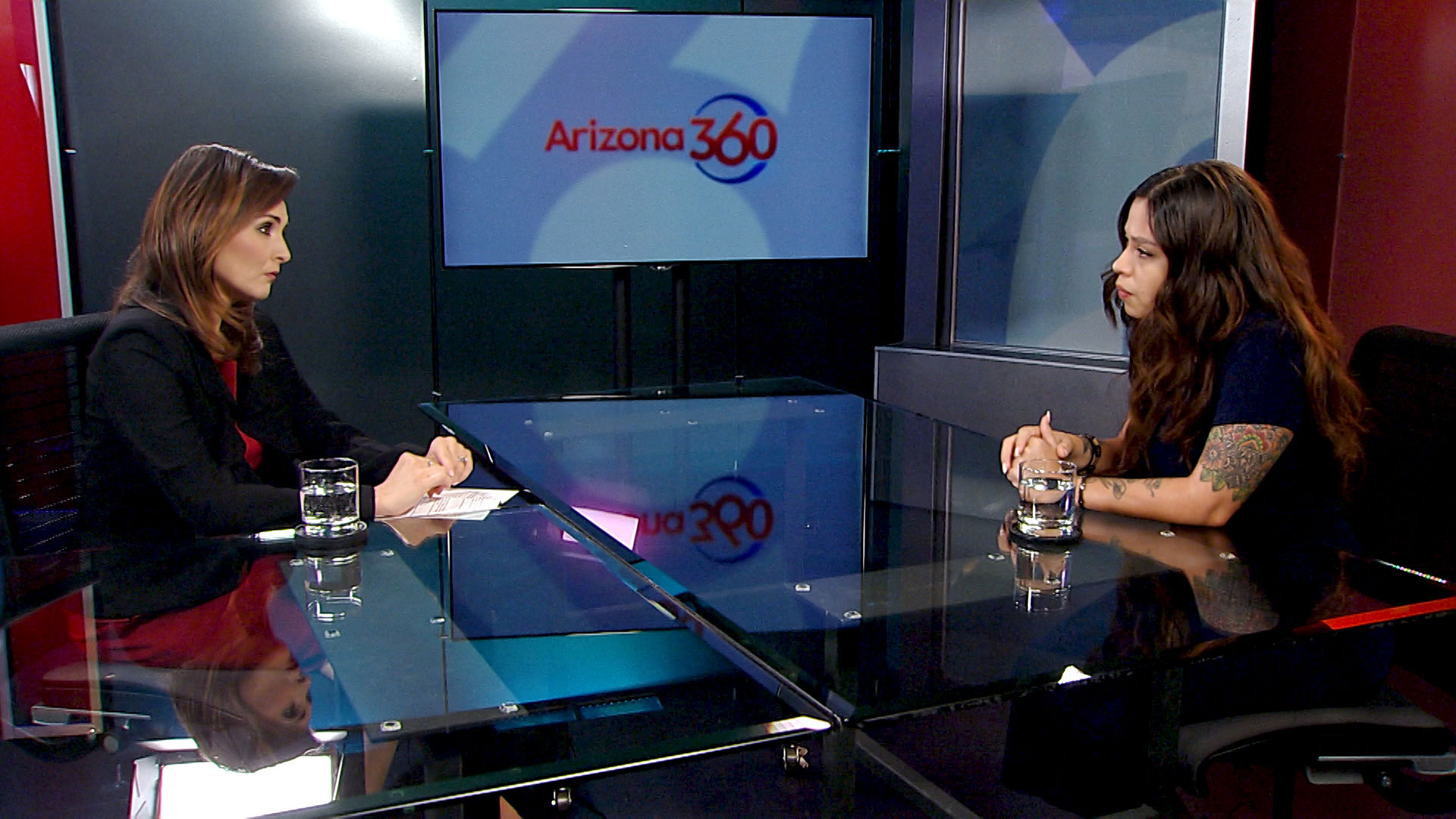Arizona 360 host Lorraine Rivera interviews Zaira Livier at Arizona Public Media. Zaira serves as executive director of the Peoples Defense Initiative, a group spearheading a voter-initiative to declare Tucson a sanctuary city.