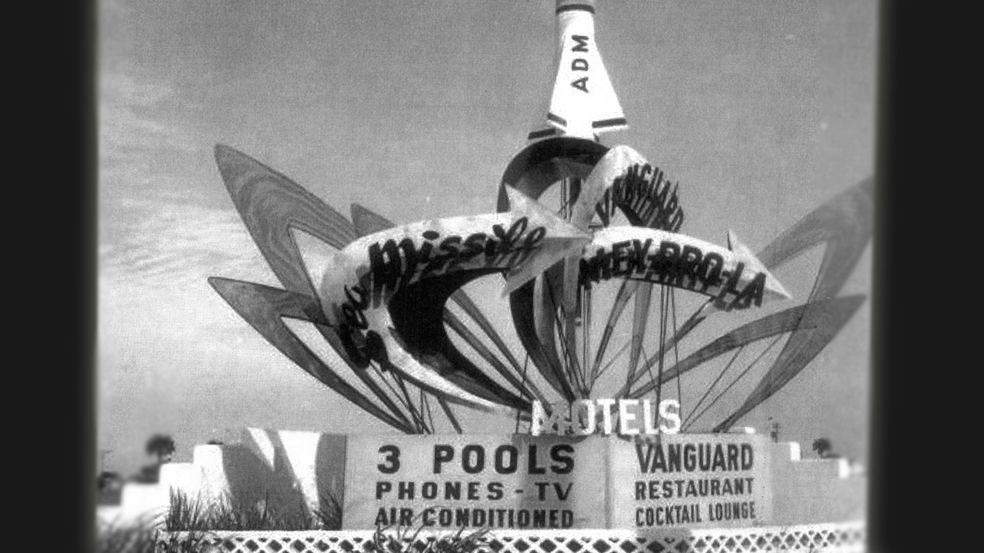 One of the many space-themed hotels from the 1960s.