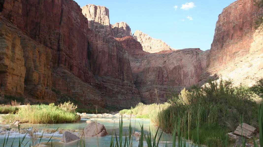A United States Geological Survey photo of the lower Little Colorado River, July 2013.