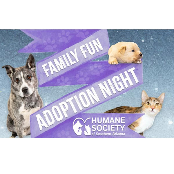Humane Society Family Fun Adoption Night