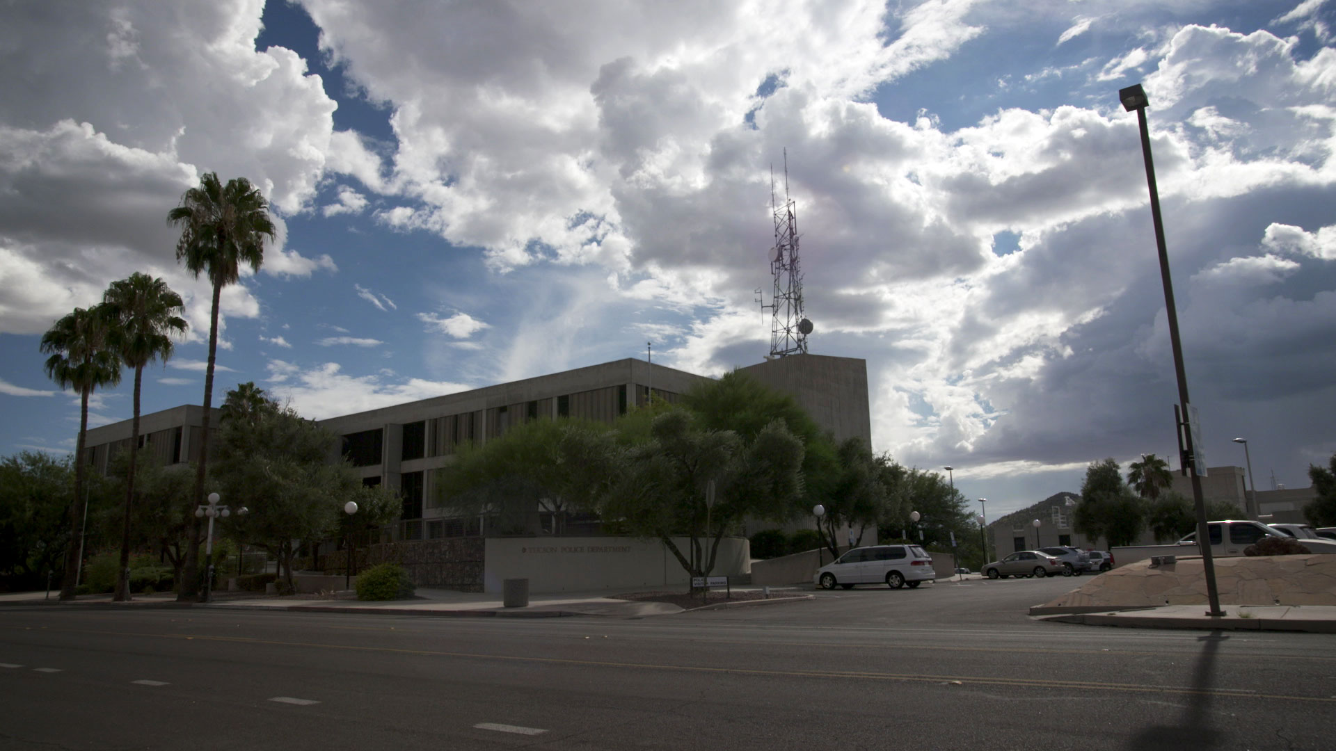 Tucson Police's downtown district on South Stone Avenue.
