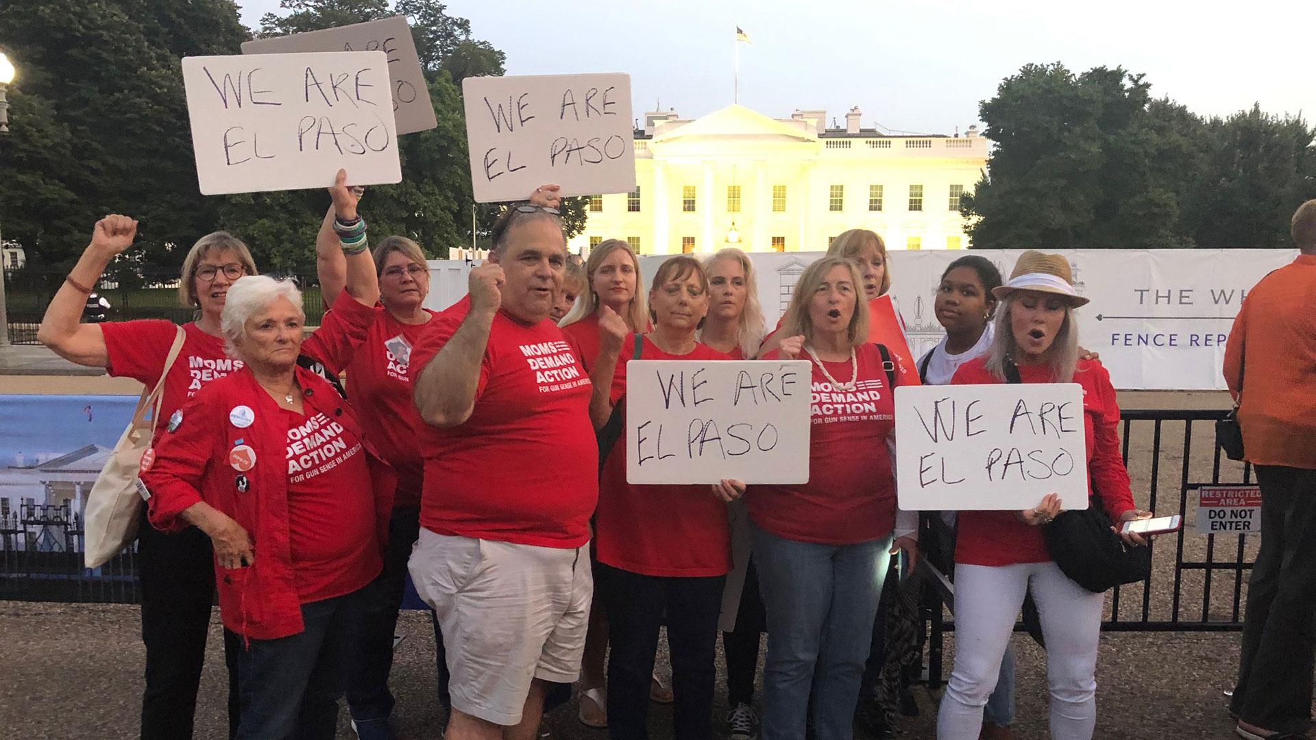 Pam Simon at White House