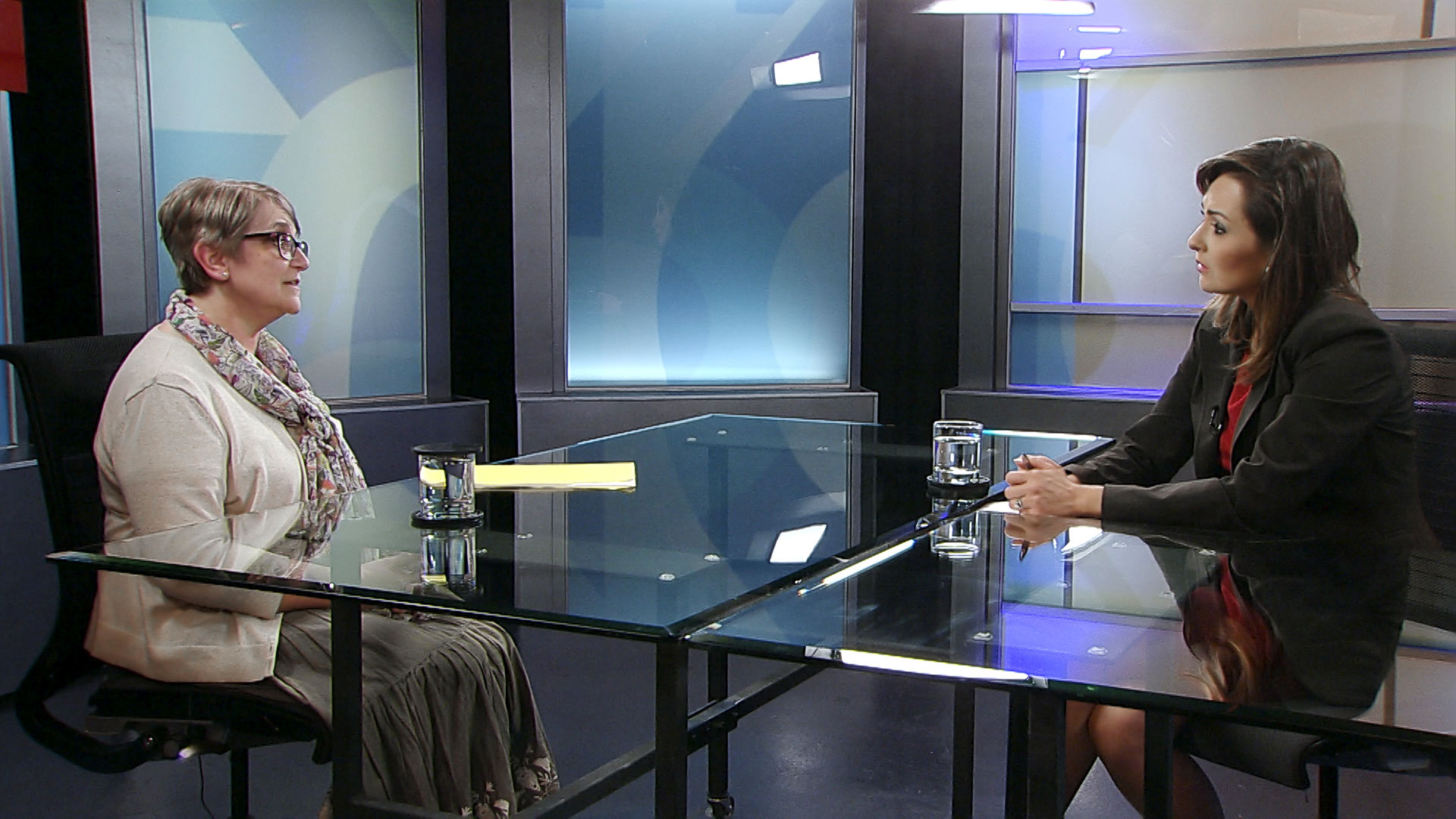 Pima County Health Department deputy director Paula Mandel sits for an interview with Arizona 360 host Lorraine Rivera on August 20, 2019.
