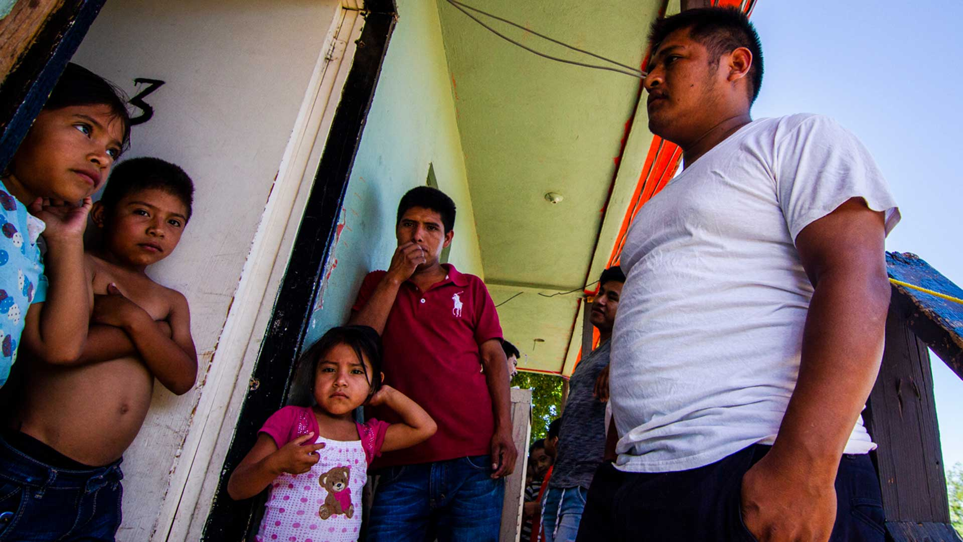 Several families of asylum seekers from Guerrero are splitting a few apartments on the border.