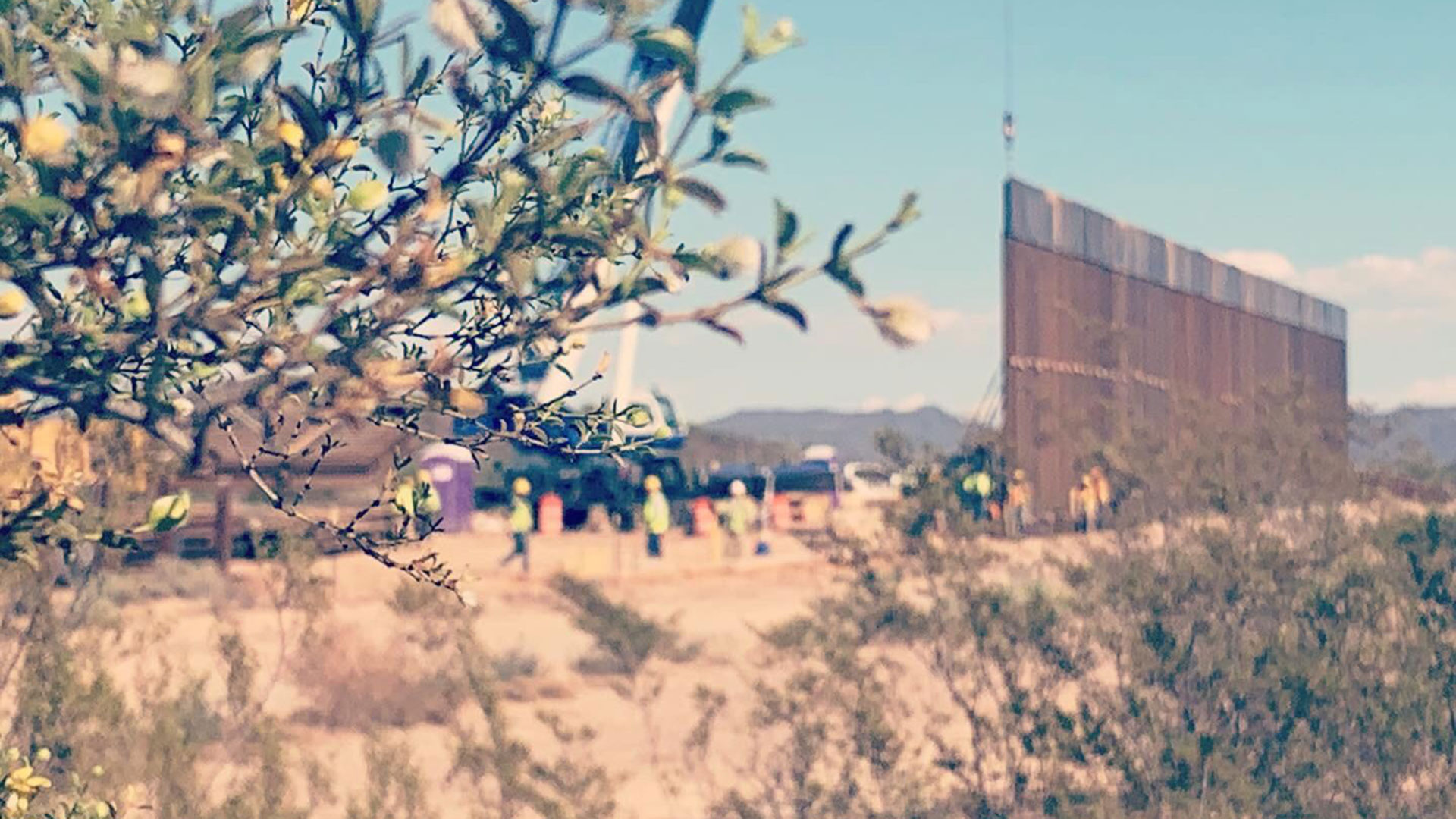 Organ Pipe border wall 2