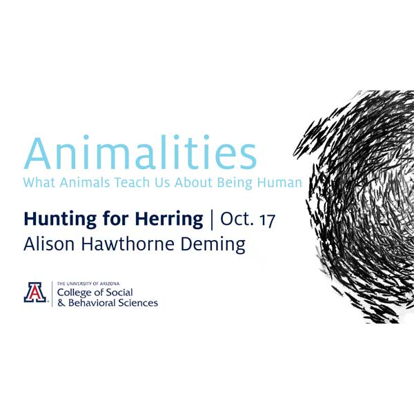 2019 Downtown Lecture Serie: Animalities  What Animals Teach Us About Being Human - Hunting for Herring