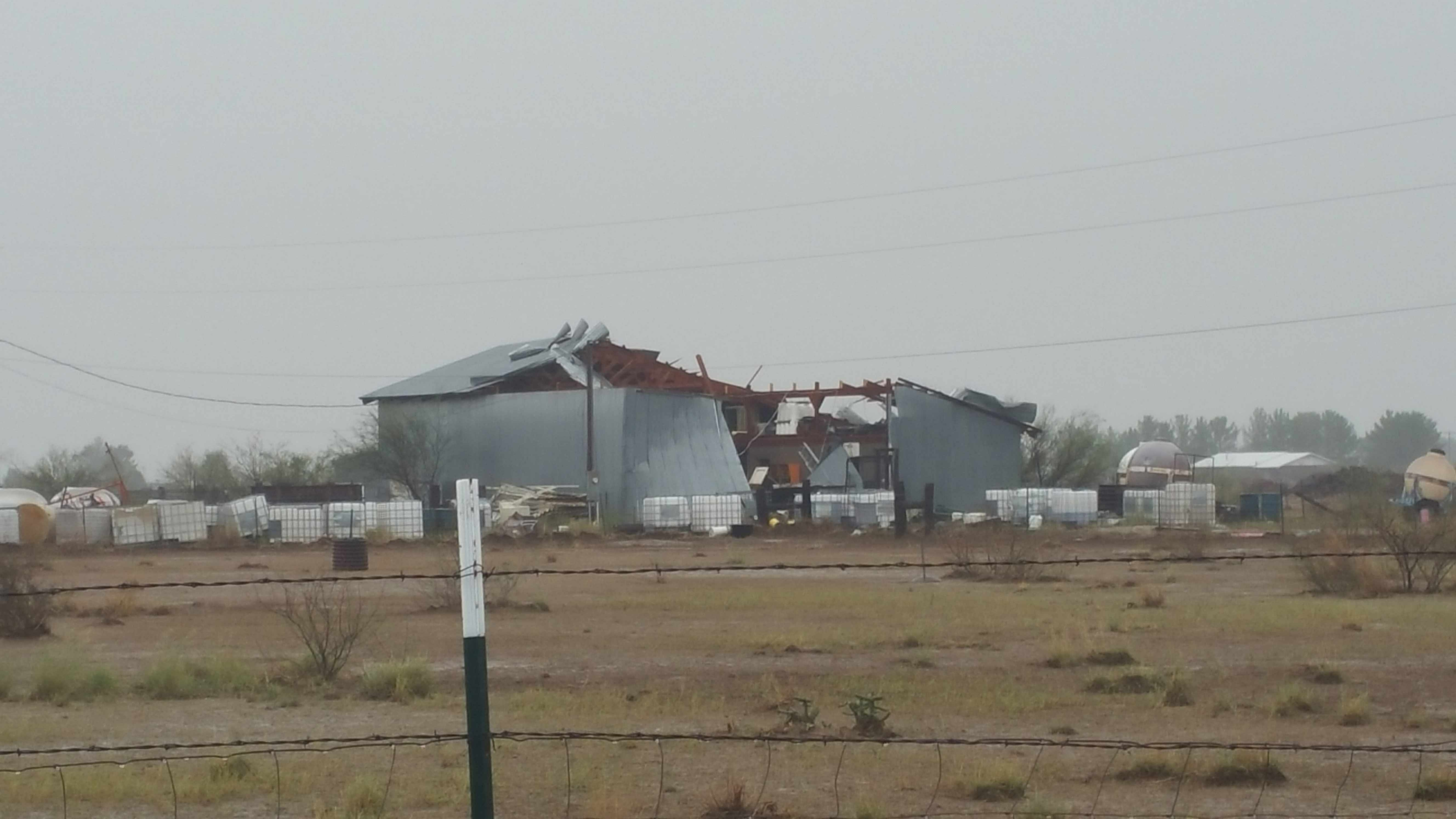 willcox tornado damage