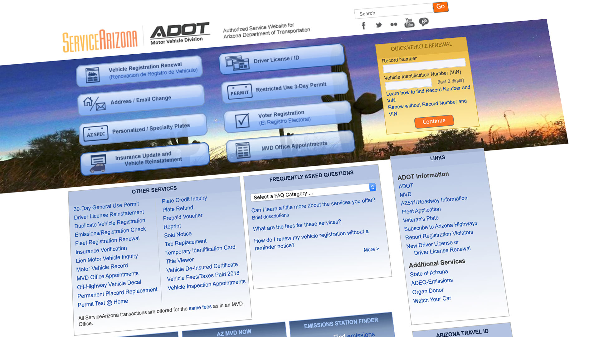 ADOT website thumb