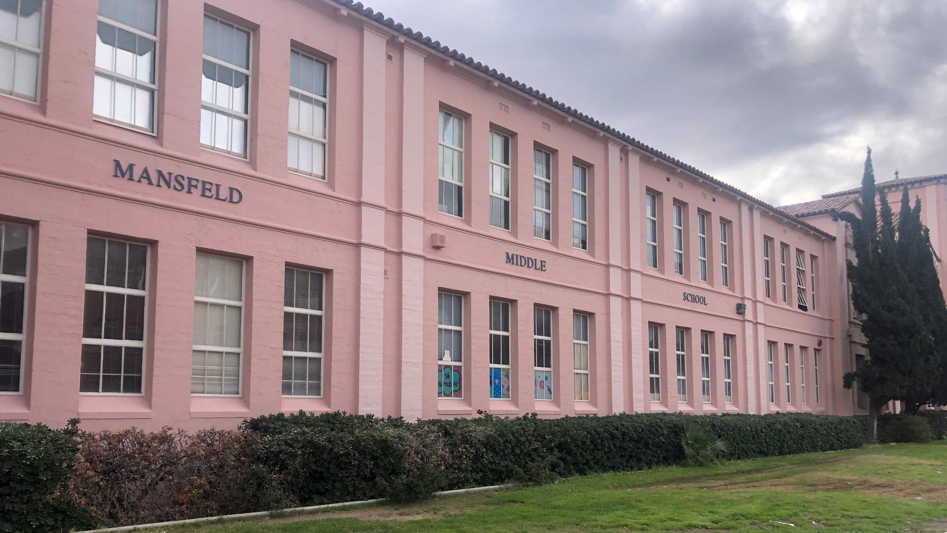 Mansfeld Middle Magnet School is one of 17 TUSD schools receiving AzMERIT results-based funding in 2020.