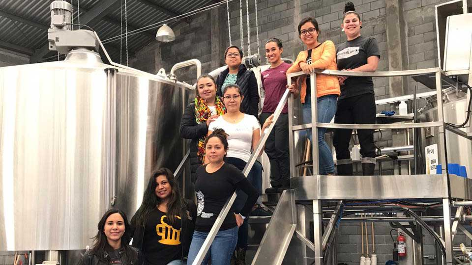 Sandra Navarro worked with a team of female brewers in Monterrey to make Las Hermanas IPA.