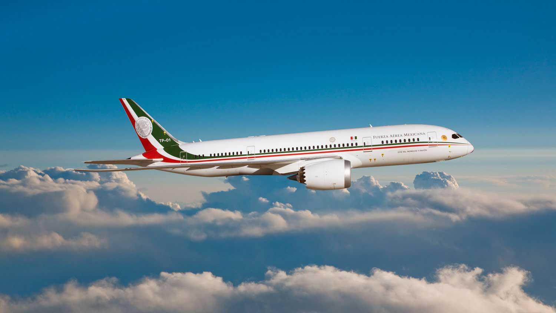Mexico's presidential plane.