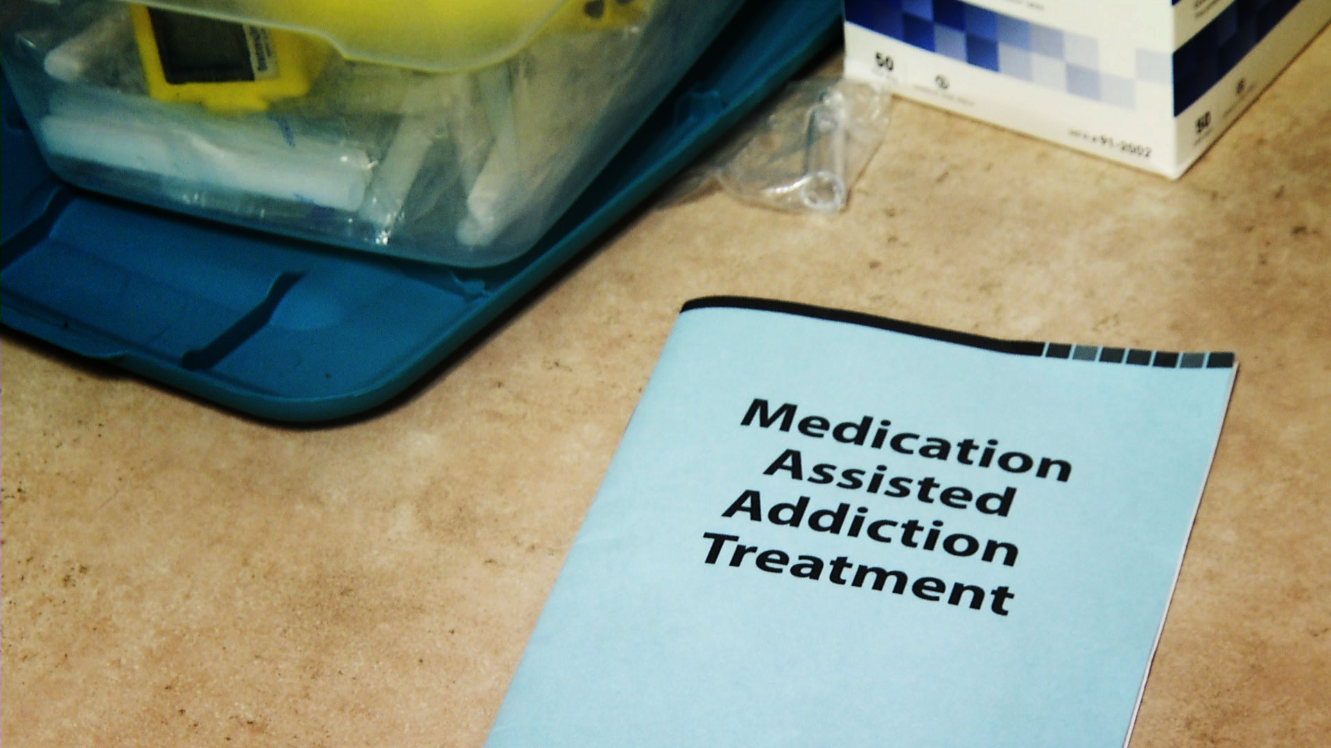 A pamphlet for medication assisted addiction treatment at the CODAC Health, Recovery and Wellness center in Tucson.