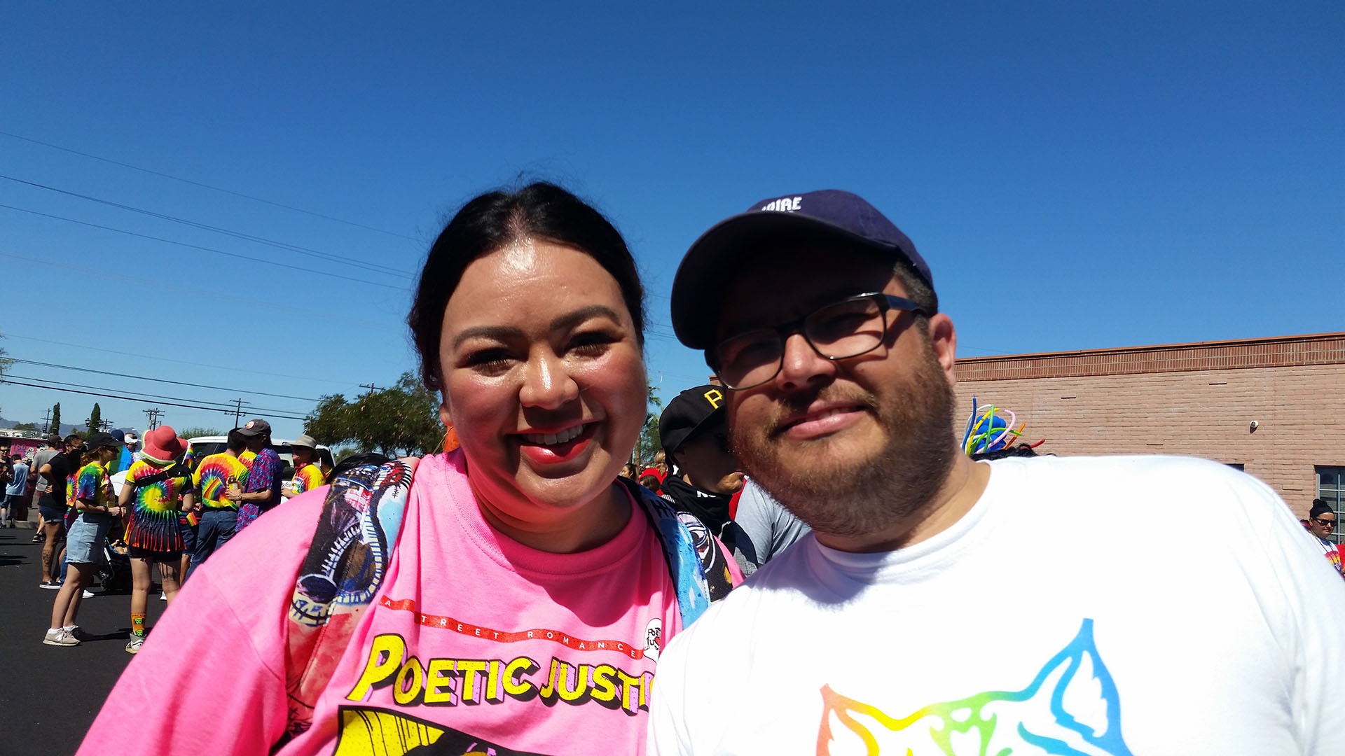 Lizette and Jose Trujillo are the parents of a transgender son. Lizette is the facilitator